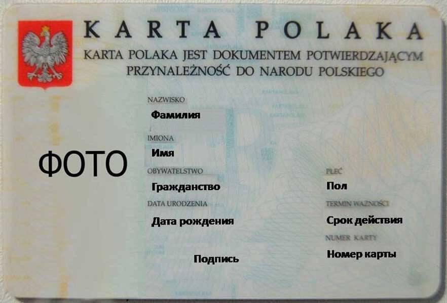 Карта Поляка видео